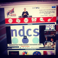 Deaf Sports Personality of the Year 2014 revamped #Website launched this month (March 2014) - www.dspy.co.uk