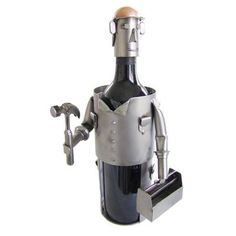 22 Best Fun Wine Metal Sculptures Ideas Wine Wine Bottle Holders Bottle