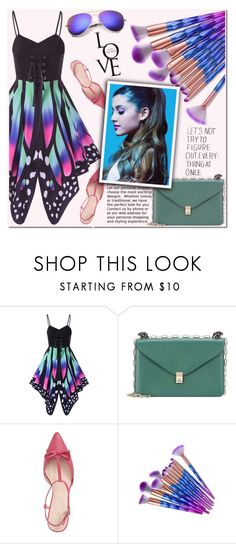 """""""Gamiss"""" by beenabloss ❤ liked on Polyvore featuring Valentino and Kate Spade"""