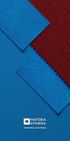 Combinación de moqueta ferial color burdeos con azul ducados para stands, ferias, congresos y eventos. #Your