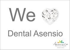 En el mes del amor... WE LOVE DENTAL ASENSIO ;) #implantesvalencia