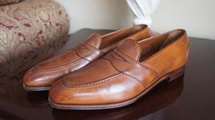 Edward Green Split Toe Loafer