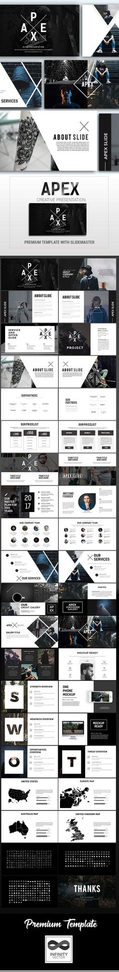 report pad marketing presentation template keynote | marketing, Presentation templates
