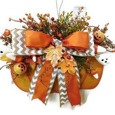 How cute would this Fall pumpkin be on your door or wall this Fall Season?!?