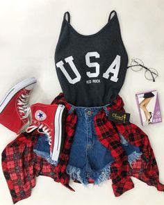 Cute Teen Outfits, Cute Casual Outfits, Teen Fashion Outfits, Mode Outfits, Cute Summer Outfits, School Outfits, Cute Fashion, Stylish Outfits, Girl Outfits