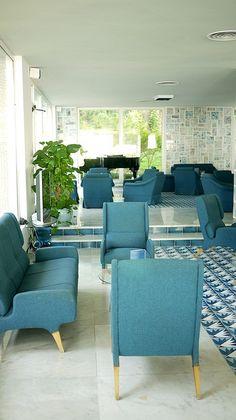 sorrento-gio-ponti-hotel-lobby-, via Flickr.