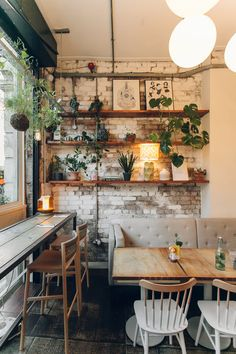 I am a dreamer - – A mix of mid-century modern, bohemian, and industrial interior style. Home and apartment decor, - Deco Restaurant, Modern Restaurant, Bohemian Restaurant, Vintage Restaurant, Vintage Cafe, Vintage Pink, Cafe Shop, Cafe Bar, Estilo Interior