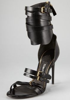 Trends to Try -- 10 Gladiator-Inspired Heels for Spring 2013