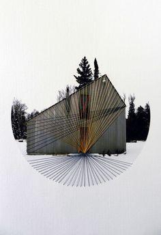 Lonely Houses by Hagar Vardimon-van Heummen of Happy Red Fish