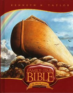 Family-Time Bible in Pictures by Kenneth N. Preschool Bible Activities, Preschool At Home, Sunday School Curriculum, Homeschool Curriculum, Bible Pictures, Bible For Kids, Reading Levels, Bible Stories, Read Aloud
