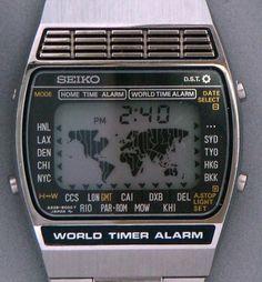 Seiko a239-5000 'World Timer Alarm', 1979