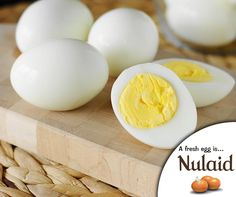 #WellnessWednesday: Eggs contain nutrients like betaine and choline which is good for heart health. Choline is also good for our brain and is essential for its development. #Nulaid