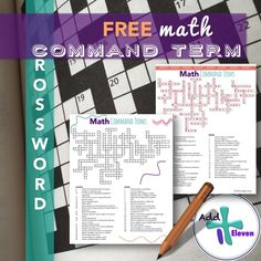 Math Command Term Crossword