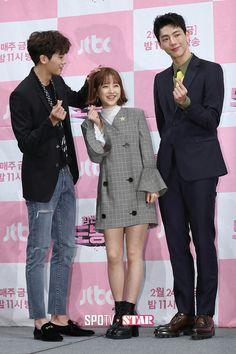 Korean Celebrities, Hollywood Celebrities, Strong Girls, Strong Women, Asian Actors, Korean Actors, Park Hyungsik Strong Woman, Strong Woman Do Bong Soon Wallpaper, Ahn Min Hyuk