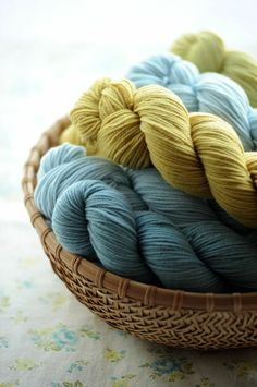 Clutter & Chaos:  Great colors for beach house, bathroom, or summer time wash cloths!