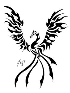 Tribal Phoenix by Sakashima