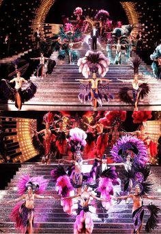 Jubilee - Bob Mackie finale costumes