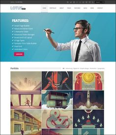 Wordpress Themes for Portfolios