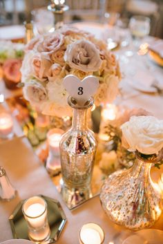 Ashlin and Ryand, wedding day bliss:  Table Décor