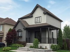 Beautify your home with our rich & vibrant exterior paint colours! Visit our website to see our colour options! Exterior Color Palette, Exterior Paint Colors, Paint Colours, Black Windows, Windows And Doors, Painting Vinyl Windows, Pintura Exterior, Painting Contractors, Color Spray