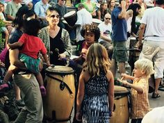 Free Drum Festival Every Friday Asheville (Dog-Friendly!)