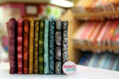 Fat Eighth Designer Fabric Bundle 10 FEs Hand by ModernQuilter, $15.75
