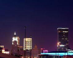 Oklahoma City Skyline at Night