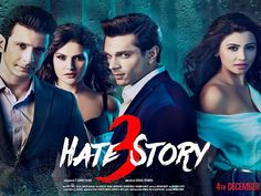Hate Story 3 coming soon!! Be ready for a new story of #love #hate #passion