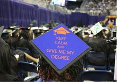 Decorate your grad cap from www.tasseltoppers.com #tasseltoppers #graduation #decorateyourgradcap
