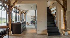 Transformation ehemaliges Bauernhauses in modernes Einfamilienhaus - fresHouse