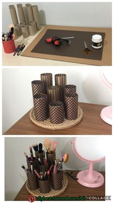 Diy home decor Diy home decor room decor Diy home decor Diy h . - Diy home decor Diy home decor Diy home decor Diy home decor - Diy Crafts Hacks, Diy Home Crafts, Diy Projects, Diys, Upcycled Crafts, Recycled Decor, Cute Storage Boxes, Storage Ideas, Diy Popsicle Stick Crafts