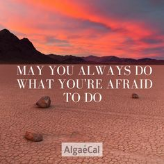 """May you always do what you're afraid to do"" #qotd #quotes #inspo #facefear"