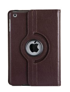 Rotating PU Leather Case Cover Stand For Apple iPad mini 1 2 3 + FREE Protector & Stylus