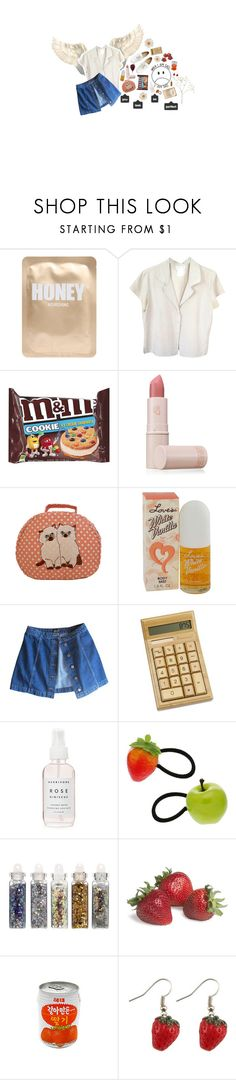 """""""😇"""" by ideallylovely ❤ liked on Polyvore featuring Lapcos, agnès b., Lipstick Queen, Topshop, Herbivore, Dorothy Perkins, ASOS and FRUIT"""