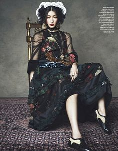 Harper's BAZAAR Korea January 2014