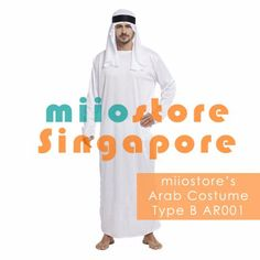 206370cbac Rent Arab Costume Singapore - miiostore Costumes - Affordable Rentals