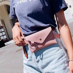 8050e2e3490 Fashion New Women Waist Pack Femal Belt Bag Phone Pouch Bags Brand Design  Women Envelope Bags for Ladies Girls Fanny Pack Bolosa Travel Handy Waist  Bag ...