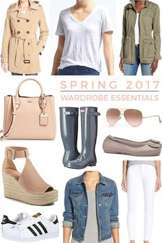 So excited to share this year's list of SPRING WARDROBE ESSENTIALS!! This is always one of my favorite posts to put together. This list is not exhaustive, but it's a good starting point.