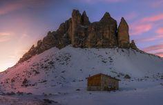 Sunset at Tre Cime Dolomiti [1900x1236] [OC] http://ift.tt/2An0PO5
