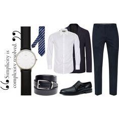 Autoridad by imagenymas07 on Polyvore featuring Canali, Topman, Joseph, Tod's, Daniel Wellington, Saddlebred, Ermenegildo Zegna, men's fashion and menswear