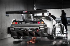 Pit work. NSX by Esprit Suzuka Japan 株式会社エスプリ. #HKSPremiumDay shot by Rob Shaw