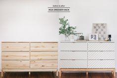 Transform a Humble IKEA Dresser Into a Gorgeous Bedroom Piece   Hunker