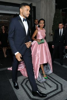 Kerry Washington and Nnamdi Asomugha Use the Met Gala as an Adorable Date Night: Kerry Washington and her husband, Nnamdi Asomugha, stepped out for a rare public appearance at the Costume Institute Gala at the Metropolitan Museum of Art in NYC on Monday.
