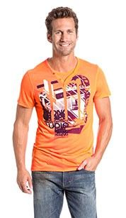 Angelo litrico T-shirt neon oranje.#oranje #wkvoetbal #wkbrazilie2014 #wkoranje #oranjeproducten