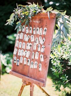 Key wedding escort cards: Photography: The Cablook Fotolab - http://www.thecablookfotolab.com/