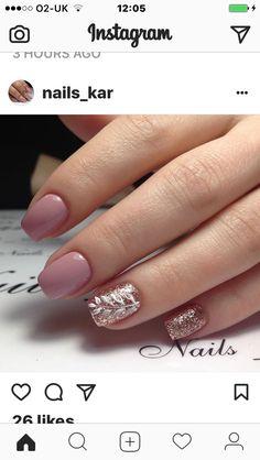 Nails Now, My Nails, Shellac Nails, Pink Nails, French Manicure Acrylic Nails, Semi Permanente, Romantic Nails, Short Gel Nails, Finger