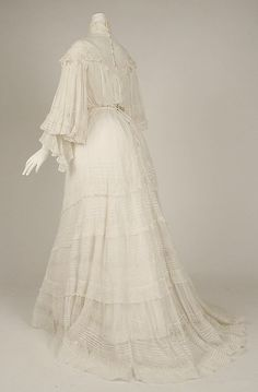 Cotton Dress 1902, American