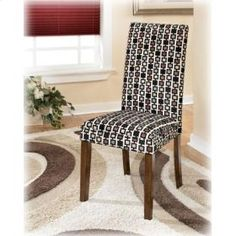 Ashley - Dining Room Side Chair (2/Cn) - D36003 - Vice Versa Furniture Collection -  Price: $129 - http://www.keyhomefurnishings.com
