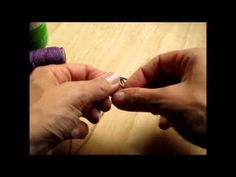 How to Make a Macrame Hemp Ring -