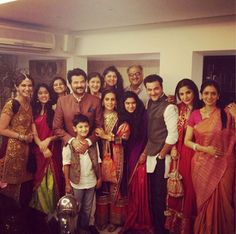 Anil Kapoor, his bothers Boney and Sanjay had a family get-together along with their wives and children as they celebrated Diwali. #Bollywood #Fashion #Style #Beauty #Page3